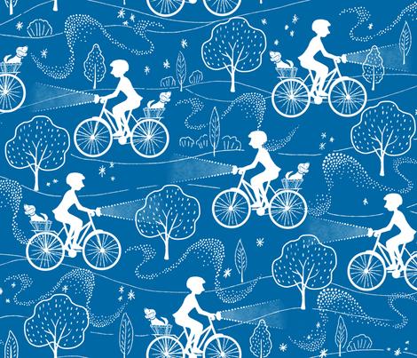 Night Ride fabric by vinpauld on Spoonflower - custom fabric