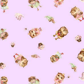My Little sweet Owl Bedding & Apparel collection