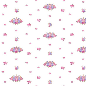 shabby rose LG7 -lavender bunch