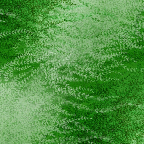 Wind-whipped Tangles (green II)