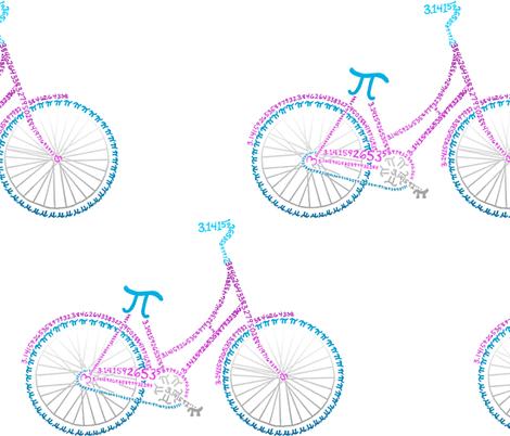 "Bohemian pi-cycle (12"") fabric by weavingmajor on Spoonflower - custom fabric"