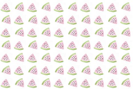 watermelon fabric by shesalioness on Spoonflower - custom fabric