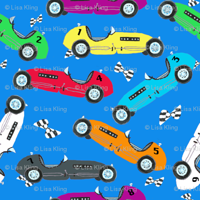 Vintage Indy Race Cars