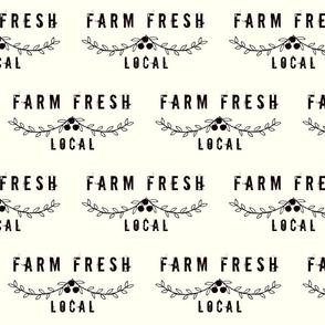 farm fresh Local on creaml- LARGE 8