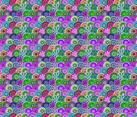 Market plates medium d fabric by leroyj on Spoonflower - custom fabric