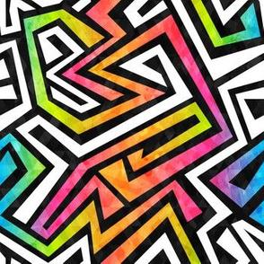 Graffiti Maze