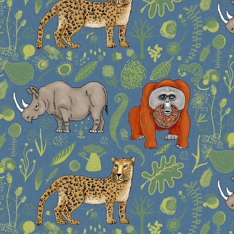 Rrrrrendangered-animals-black-rhino-amur-leopard-bornean-orangutan_shop_preview
