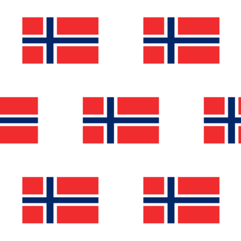 Norwegian Flag // Large fabric by thinlinetextiles on Spoonflower - custom fabric