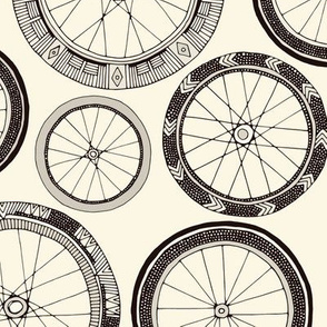 bike wheels pearl