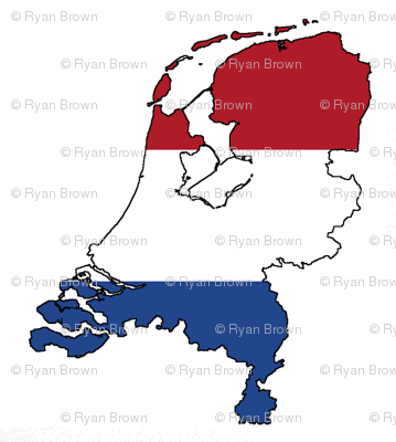 Netherlands Flag Overlay // Large