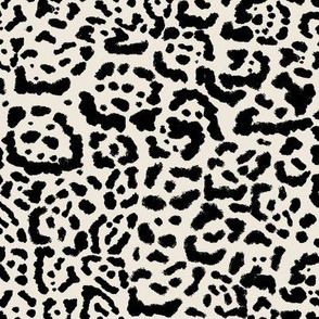 Jaguar Print Greige
