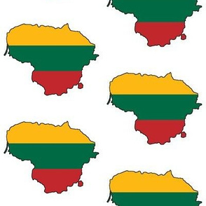 Lithuanian Flag Overlay // Large