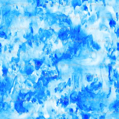 azure - watercolor