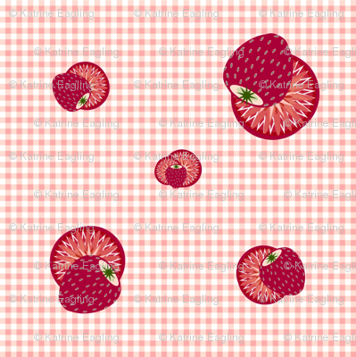 Strawberry Gingham 2