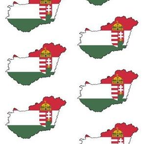 Hungarian Flag Overlay // Large
