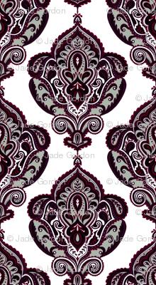 Elegant Holiday Limited Color Palette Damask and Coordinate 2