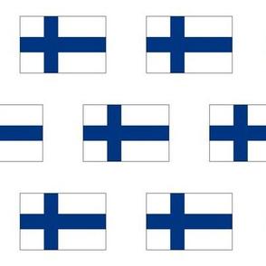 Finnish Flag // Large