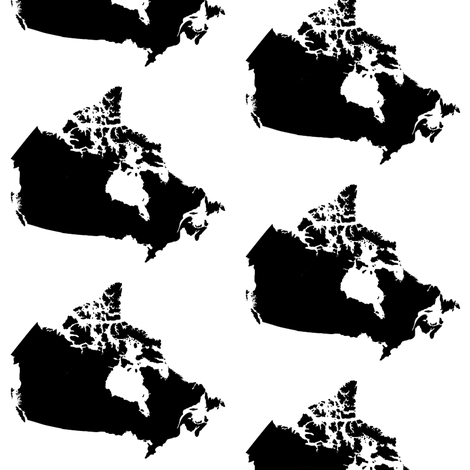Canada // Large fabric by thinlinetextiles on Spoonflower - custom fabric