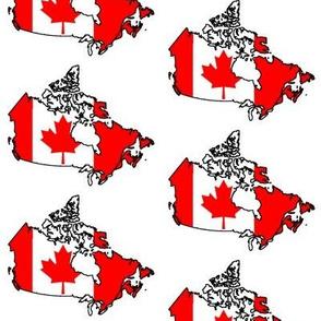Canadian Flag Overlay // Large