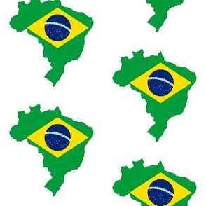 Brazilian Flag Overlay // Large
