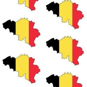 Belgian Flag Overlay // Large