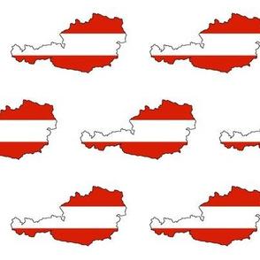 Austrian Flag Overlay // Large