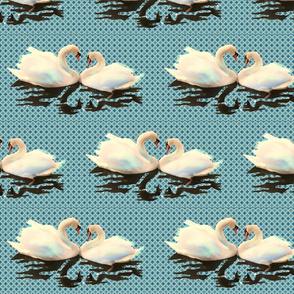 swans fabric3