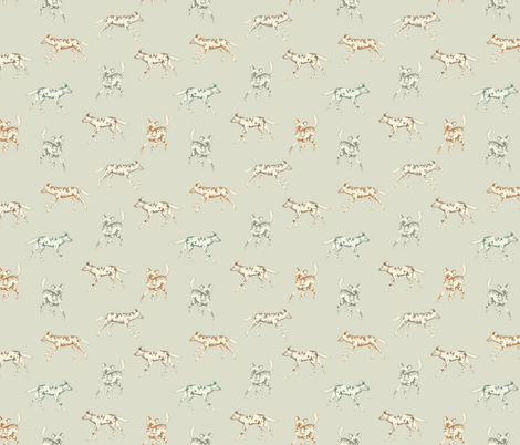 African hunting dogs fabric by daniwilliams on Spoonflower - custom fabric