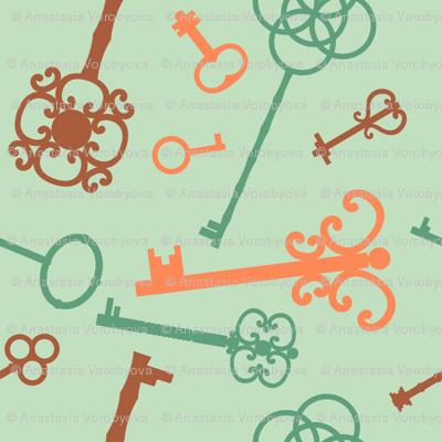 Skeleton keys pattern