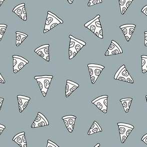 I love Italy italian food design pizza slice gender neutral gray cooking design
