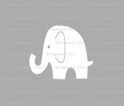 Fat Quarter Elephant Pillow