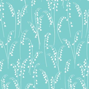 Lily Of The Valley - Turquoise