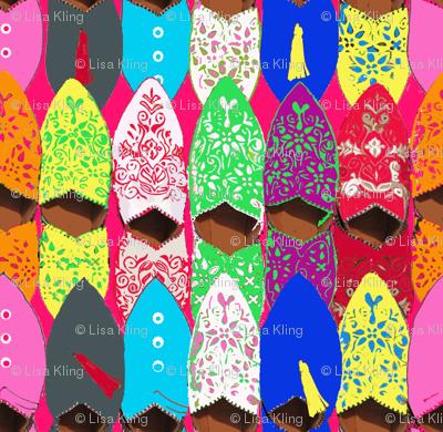 Slippers - Marrakesh Souk Shopping