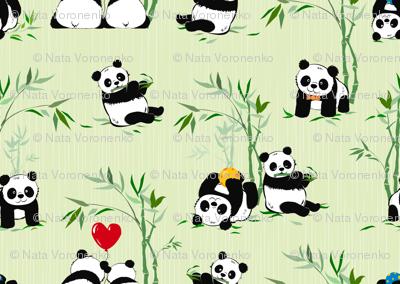 Giant panda cuties