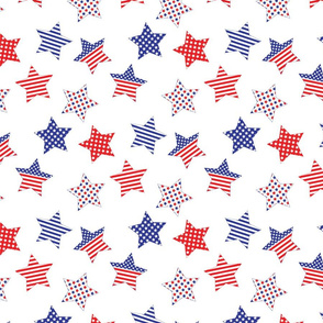 Patriotic Heroes Stars and Stripes Collection 7