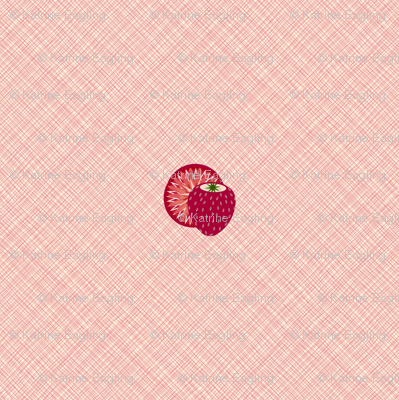 Strawberries_ pink weave 2