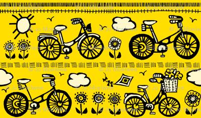 Springtime bike ride