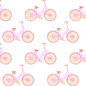 Pi-cycle in red, orange and hot pink
