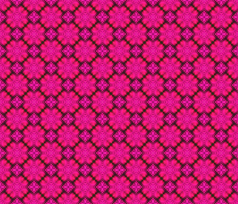 Pink Fans of Japan fabric by just_meewowy_design on Spoonflower - custom fabric