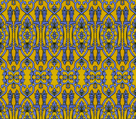 17eme siecle 110 fabric by hypersphere on Spoonflower - custom fabric