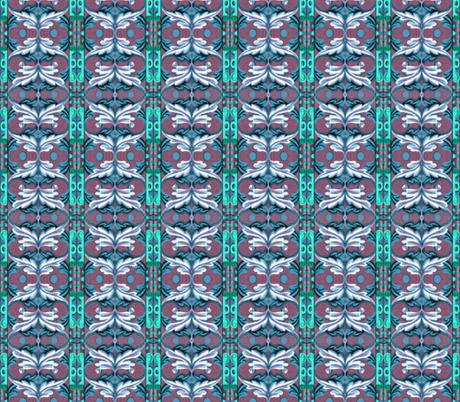 17eme siecle 115 fabric by hypersphere on Spoonflower - custom fabric