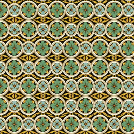 17eme siecle 119 fabric by hypersphere on Spoonflower - custom fabric