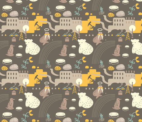 endangered4 fabric by fabfabulik on Spoonflower - custom fabric