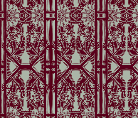 Echoes From the Winter of 1918 fabric by edsel2084 on Spoonflower - custom fabric