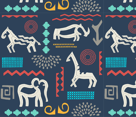 Endangered Species NL fabric by janet_hild on Spoonflower - custom fabric