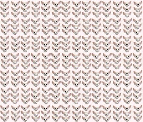 Foxy Chevron fabric by tracydb70 on Spoonflower - custom fabric