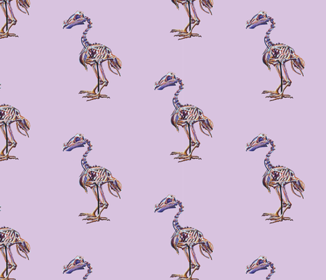 Lavender Dodo fabric by blueskitty on Spoonflower - custom fabric