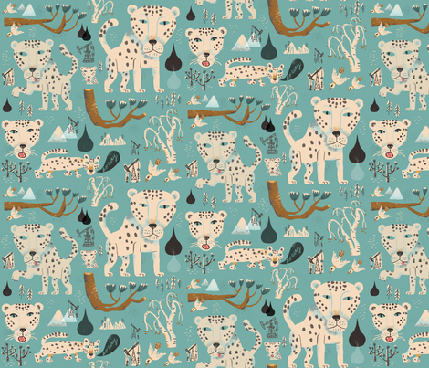 GoAway fabric by skbird on Spoonflower - custom fabric