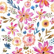 Wildflower Summer in Bright - LARGE