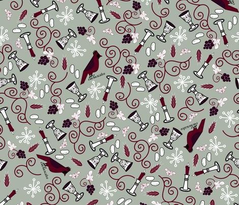 Eucaristeo fabric by pamelachi on Spoonflower - custom fabric